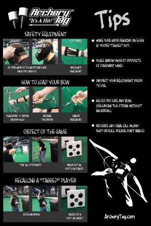 Archery Tag Playing Tips