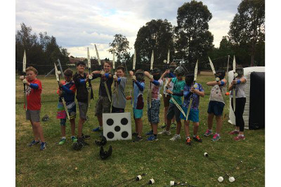 Archery Tag Kids Party