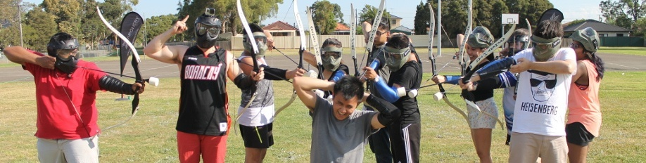 Archery Tag is the newest and hottest family friendly combat sport.